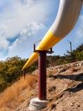 Aardgasleiding Royalty-vrije Stock Afbeeldingen