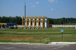 Aardgasleiding Stock Afbeeldingen