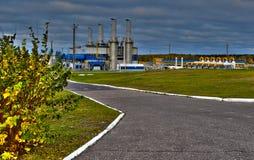 Aardgasleiding Royalty-vrije Stock Fotografie