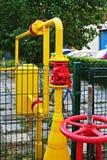Aardgasleiding. Royalty-vrije Stock Foto