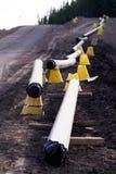 Aardgasleiding stock foto