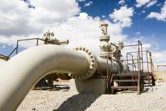 Aardgasleiding Stock Foto's