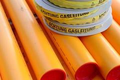 Aardgasleidingen Royalty-vrije Stock Afbeelding