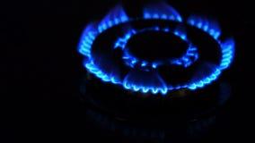 Aardgasontsteking stock videobeelden