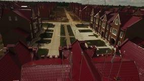 Aardigere plattelandshuisjeregeling in een Britse stijlvideo stock footage