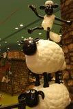 Aardman ` s Shaun fårteckenen på display at Expocity Arkivbilder