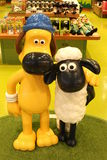 Aardman`s Shaun the Sheep characters on display at Expocity Stock Photos