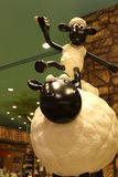Aardman`s Shaun the Sheep characters on display at Expocity Stock Images
