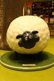 Aardman`s Shaun the Sheep characters on display at Expocity Royalty Free Stock Photography