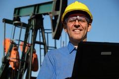 Aardolie en Petrochemische Techniek Stock Foto's