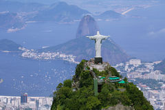 Aardrijkskunde van het zuidenstreek van Rio Stock Afbeeldingen