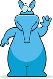 aardvark κυματίζοντας διανυσματική απεικόνιση