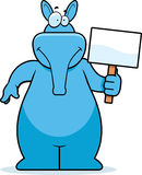 aardvark σημάδι ελεύθερη απεικόνιση δικαιώματος