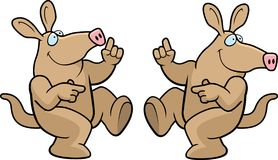 Aardvark Dancing Stock Images