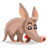 Aardvark vector illustration. A cartoon. Aardvark illustration. A cartoon illustration of a aardvark Royalty Free Stock Photo