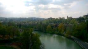 Aare Berne, Schweiz Royaltyfri Bild