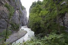 Aare Gorge - Aareschlucht Stock Image