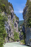 Aare Gorge in Switzerland Royalty Free Stock Photo