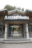 Aare-Schlucht - Aareschlucht Stockfotografie