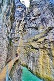 Aare-Schlucht - Aareschlucht auf dem Fluss Aare Lizenzfreies Stockbild