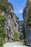 Aare-Schlucht in der Schweiz Lizenzfreies Stockfoto