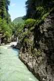 Aare-Schlucht, die Schweiz Lizenzfreies Stockbild