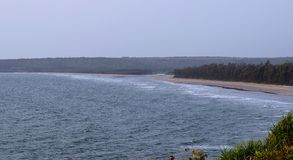 Aareware海滩, Ganpatipule,马哈拉施特拉,印度 库存图片