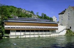 Aargau-Berichts-Schweizer Bezirk-historisches Museum Baden lizenzfreie stockbilder