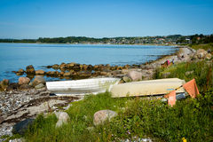 Aarhus Bay, Denmark Royalty Free Stock Photography