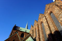 Aarhus cathedral Royalty Free Stock Photos