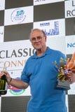 AARHUS, DÄNEMARK - 29. MAI 2016: Bill Hemming #95 - Tojeiro-Formel-Jüngeres am klassischen Rennen Aarhus 2016 Lizenzfreie Stockfotografie