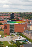AARHUS, DINAMARCA - 7 DE JUNIO DE 2014: El museeum de AROS en Aarhus, Dinamarca Foto de archivo