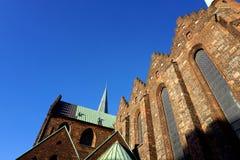 Aarhus-Kathedrale Lizenzfreie Stockfotos