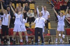 Aarhus, olympisches Qualifikationsturnier der Frauen Lizenzfreies Stockfoto