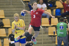 Aarhus, olympisches Qualifikationsturnier der Frauen Stockbilder