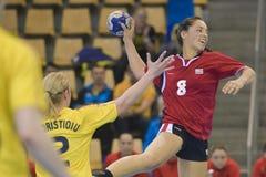 Aarhus, olympisches Qualifikationsturnier der Frauen Lizenzfreie Stockbilder