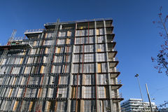 Aarhus plac budowy Obrazy Royalty Free