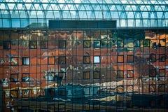 Aarhus-Reflexionen, Dänemark Lizenzfreies Stockfoto