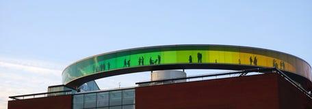 Aarhus-Regenbogenpanorama Lizenzfreie Stockfotografie
