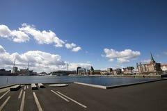 Aarhus-Skyline Lizenzfreie Stockbilder