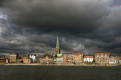 Aarhus-Skyline Stockbild