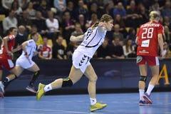 Aarhus, torneo olímpico de la calificación de las mujeres Fotos de archivo libres de regalías