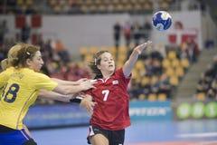 Aarhus, torneo olímpico de la calificación de las mujeres Imagenes de archivo