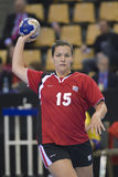 Aarhus, torneo olimpico della qualificazione delle donne Fotografia Stock Libera da Diritti