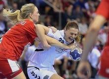 Aarhus, tournoi olympique de la qualification des femmes Photo stock