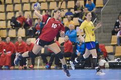 Aarhus, tournoi olympique de la qualification des femmes Image stock