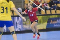 Aarhus, tournoi olympique de la qualification des femmes Photos stock