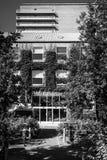 Aarhus University, Library entrance Royalty Free Stock Photo