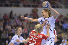 Aarhus, Women's Olympic qualification tournament Stock Photography