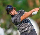 Aaron Baddeley am US Open 2013 Lizenzfreie Stockbilder